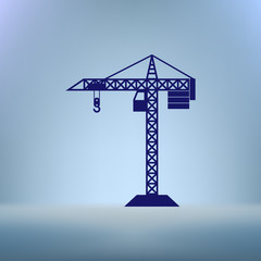 building construction crane icon