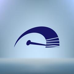 High speed symbol icon