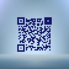 Simple icon QR code
