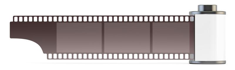 film roll 35mm, 3D rendering