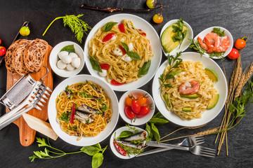イタリア食材 生パスタ  fresh pasta and Italian ingredients