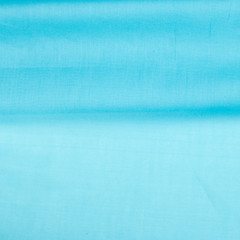 Fabric silk texture. blue