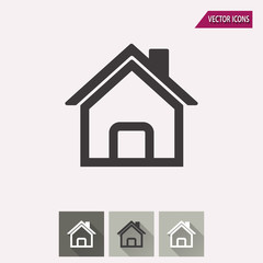 Home - vector icon.
