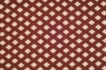 Texture, background.  fabric brown cell