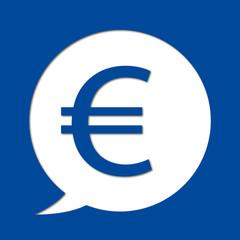 Euro - pictogramme - émotionne - monnaie