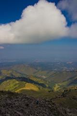 Mountain landscape in Kazakhstan, near Almaty city