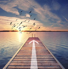 Richtungsweisend - erfolgreicher Weg
