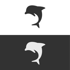 Dolphin Logo or Icon