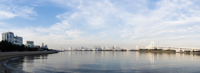 東京湾風景(お台場からの風景)
