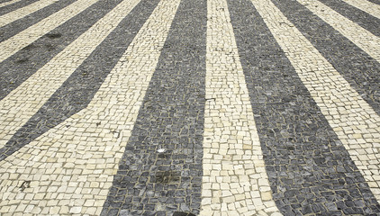 Exterior streets tiles