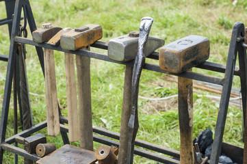 blacksmith, smith, farrier, hammersmith, forger, smithy
