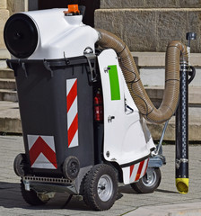 Vacum street cleaner machinery