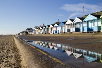 Southwold Seafront, Suffolk, England