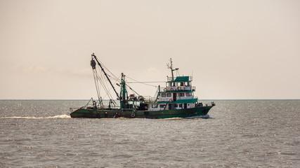 Fishing ship in Andaman sea, Poti, Georgia