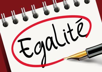 égalité - justice - discrimination - liberté