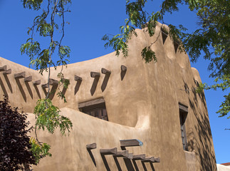 Southwest architecture - Santa Fe, New Mexico