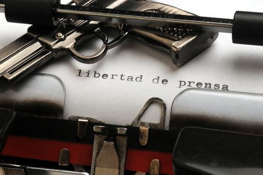 Wolność prasy Sloboda tiska Libertad de prensa in Persvrijheid Libertà di stampa Freedom of the press Venezuela Argentine Argentina Colombia