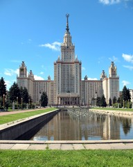 State University in the city of Moscow, Russia.