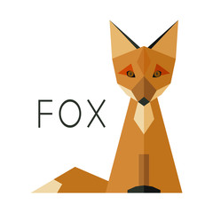 Simple Fox Logo