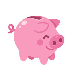 Piggy bank illustration.