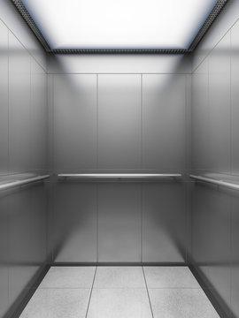 empty elevator cabin