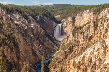 Yellowstone Falls Landscape