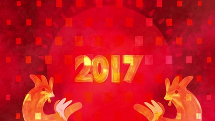Search photos family reunion 030 2017 chinese new year greetings motion graphic the year of the red fire rooster m4hsunfo