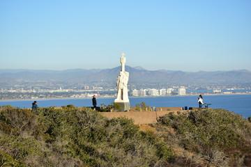 San Diego, California -  USA - December 04, 2016: Point Loma Pen