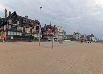The Beach at Trouville, Normandy