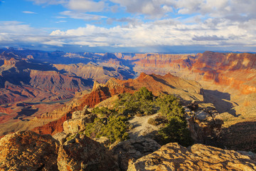 Gorgeous scenic view of breathtaking landscape in Grand Canyon N