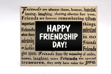 Happy Friendship Day in Friends Frame Border
