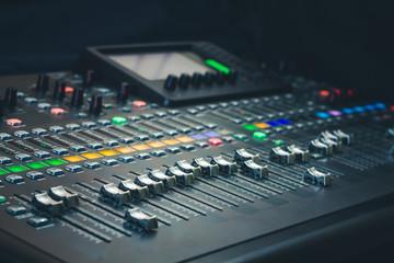 The digital studio mixer
