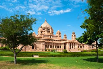 Umaid Bhawan palacel in Jodhpu, Rajasthan, India