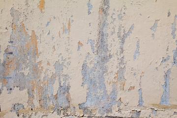 Fotobehang Oude vuile getextureerde muur old wall with cracks background