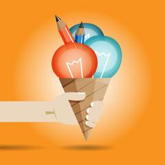 Wall Mural - Fresh Idea Ice Cream