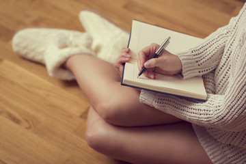 Writting a diary