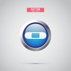 medical plaster icon. icon design