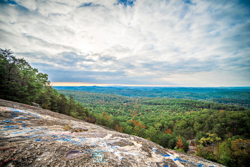 Ceasars Head State Park overlook