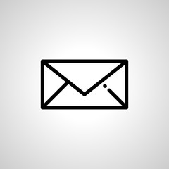 mail icon. isolated vector sign symbol