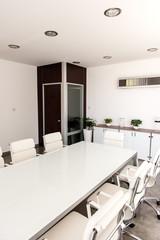 modern white office
