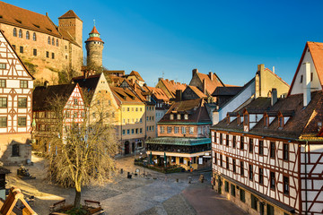 Altstadt von Nürnberg, Deutschland