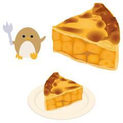 アップルパイとペンギン