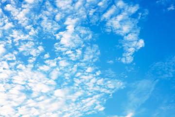 blue sky with cloud