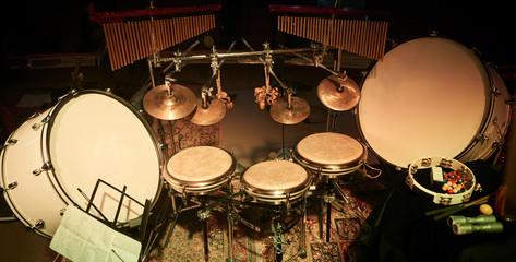 Percussion.