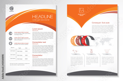 front page design