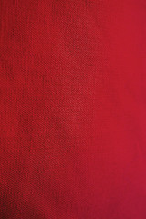 Textura de tela roja. Fondo rojo. Fondo de tela. Fondo y textura de tela roja. Fondo y textura para diseñadores. Red abstract background and texture for designers