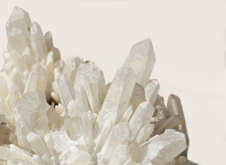 Raw mineral  quartz 2