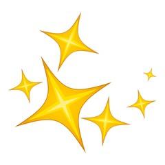 Star icon. Cartoon illustration of star vector icon for web design