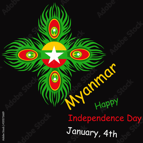 independent day of myanmar When is independence day in myanmar how many days until independence day what day of the week.