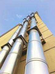 Paslanmaz çelik doğal gaz bacası